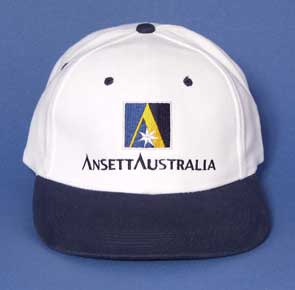 BASEBALL CAP (White crown / Navy peak)